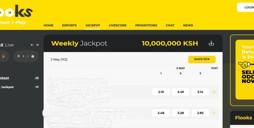 14th & 15th March 2020 Flooks Bet Jackpot Predictions