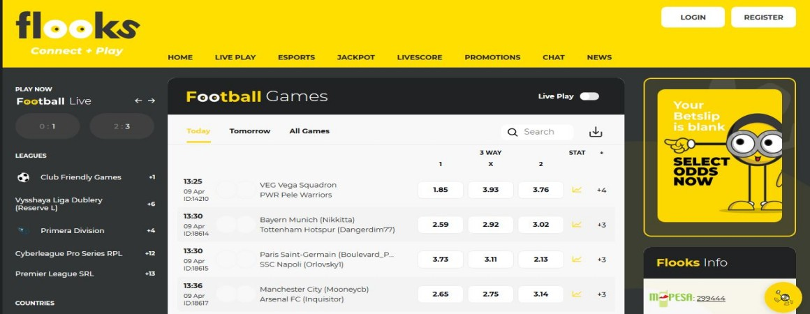 Flooks Bet Daily Jackpot Predictions